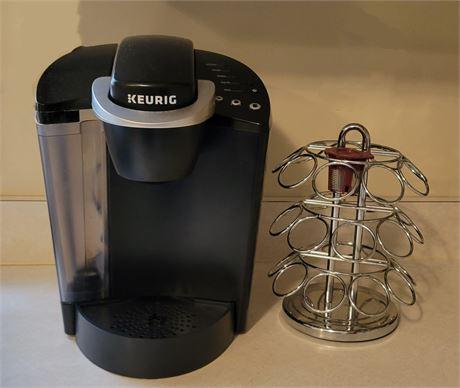 Keurig Coffee Maker & K-Cup Holder