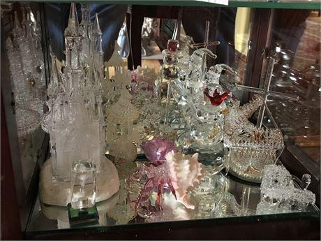 Swarovski Crystal Figurines Lot