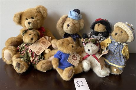 Boyds Bears from the Head Bean Collection Collector's Lot