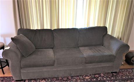 Dark Gray Upholstered Sofa