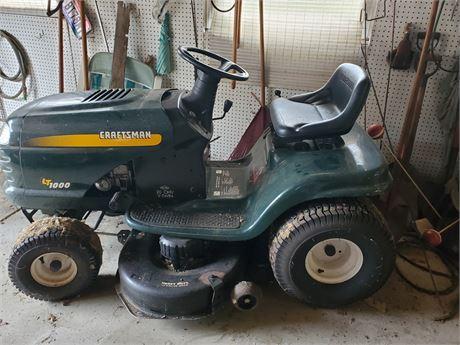 Craftsman LT 1000 Lawn Tractor 20HP Briggs V-Twin