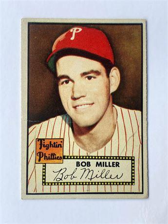 1952 Topps #187 Bob Miller