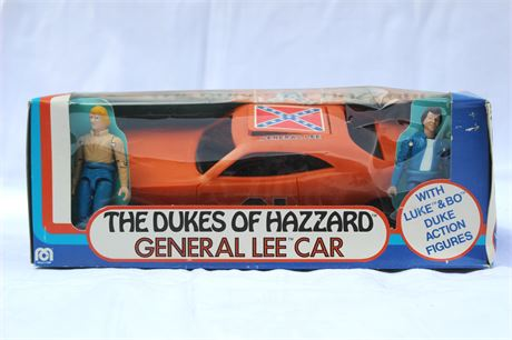 DUKES OF HAZARD General Lee Model Car 1981 Vintage by Mego Corp