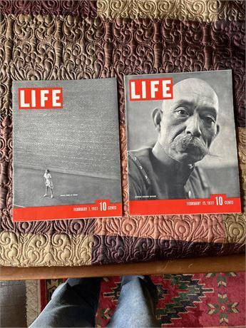 Life Magazine lot