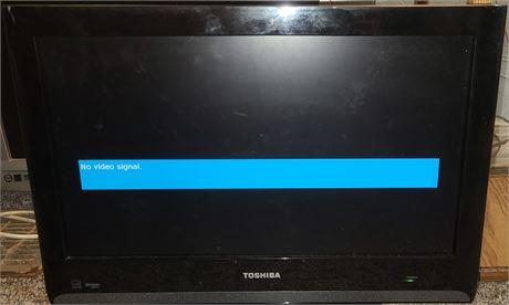 "Toshiba 19"" HDTV"