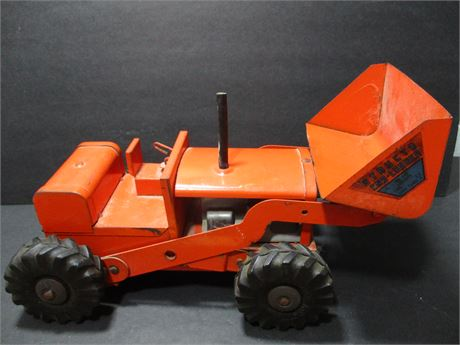 Vintage Structo 1950's Steel Frond End Toy Loader Rare Collectible