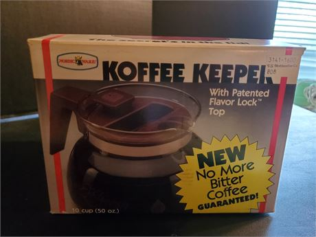 Vintage Nordic Ware 10 Cup Koffee Keeper Coffee Pot