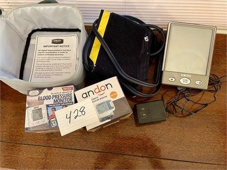 Blood Pressure Monitor Lot