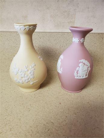 Vintage Wedgwood Miniature Vases