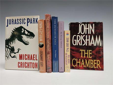 Jurassic Park John Grisham and Other Novels Books