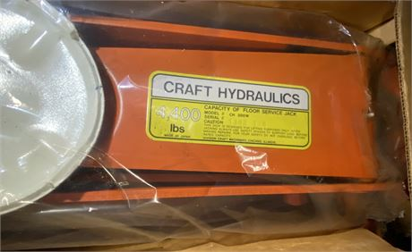 Craft Hydraulics 4400 lb Capacity Jack - New in Box - 1 of 2