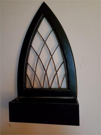 Wood Wall Hanging Basket / Tray