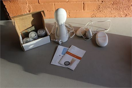 Clarisonic Pro with Box of New Brushes