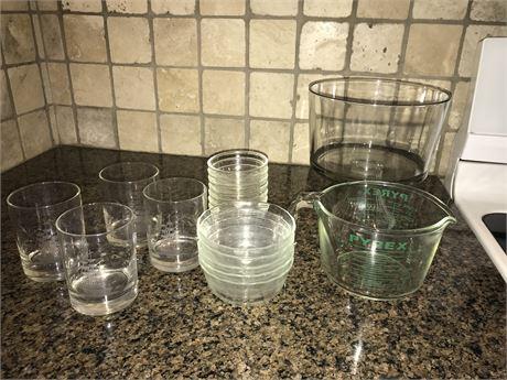Glass Lot - see description