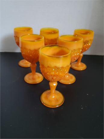 Set of 6 Retro Glasses