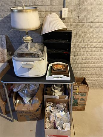 Basement Cleanout and Mystery Lot (Table NOT included)