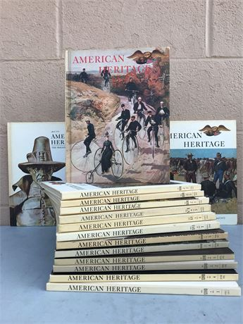 American  Heritage Vintage Books Volumes