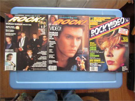 1980s Rock Magazine Lot: Duran Duran