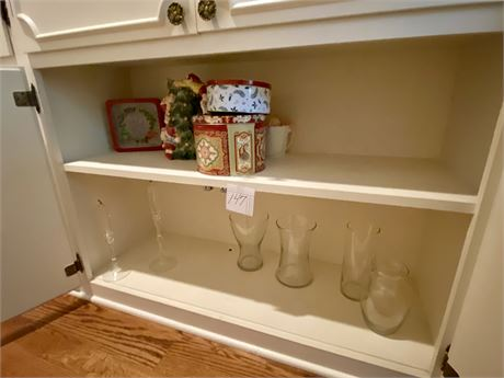 Hall Closet Clean Out Lot #4 Including Christmas Items