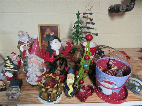 Christmas Decor Clean Out