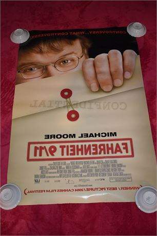 Fahrenheit 9/11 Double Sided Movie Poster-Michael Moore