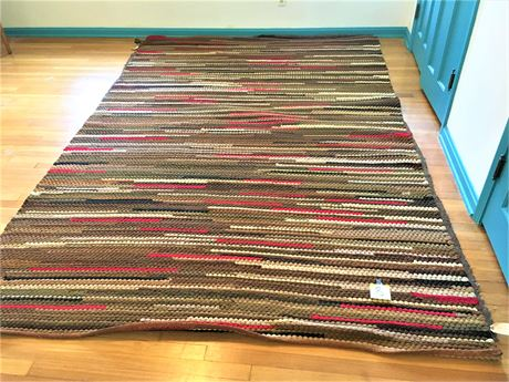 Vintage Braided Area Rug