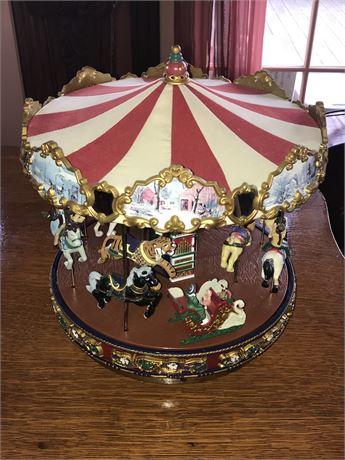 Gold Label Brand Mr. Christmas Musical Carousel