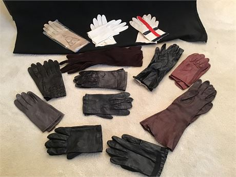 Ladies Dress Gloves and Leather Driving Gloves