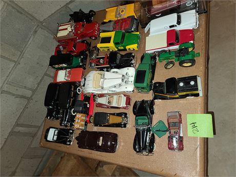 Diecast Car & Truck Lot