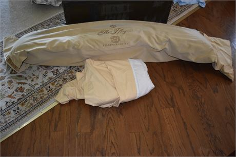 Body Pillow and Full size dust ruffle