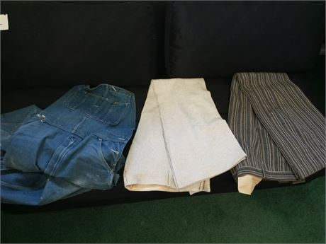 Groovy Pants & Vintage Overalls