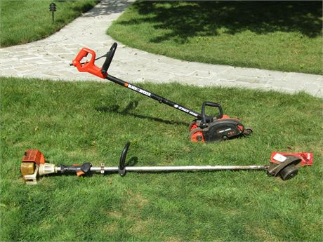 Stihl Gas Weed Eater and Black & Decker Edger