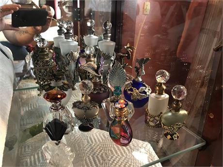 15 Ornate Perfume Bottles