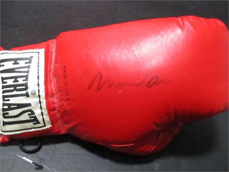 Vintage Rare Muhammed Ali Autographed Ever;ast Boxing Glove