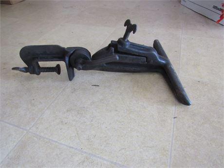 Vintage Saw Sharpener Vise