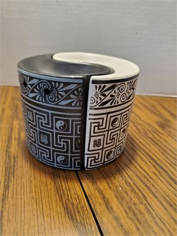 Yin & Yang Ceramic Oil Warmers