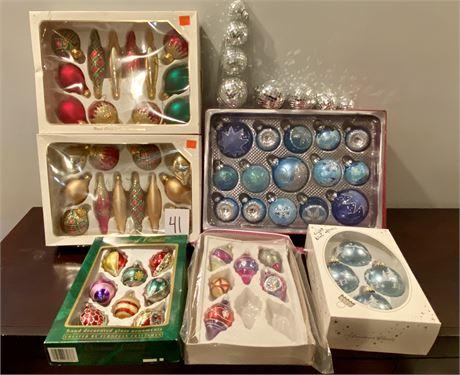 Cool Vintage Christmas Ornaments Lot #2