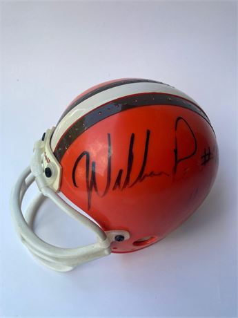 Michael Dean Perry and William Perry Autographed Browns Mini