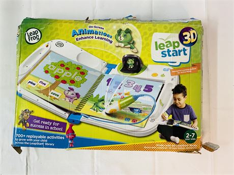 Leap Frog Leap Start 3D. Interactive Learning System.