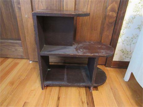Vintage Wood Bookcase