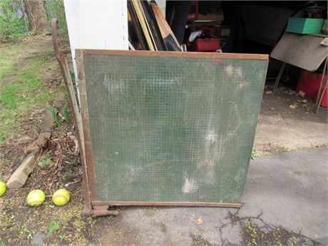 """Giant Paper Cutting Board, Vintage 32"""""""