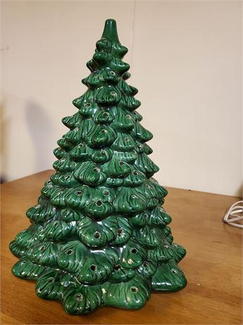 One More Vintage Ceramic Christmas Tree Shell