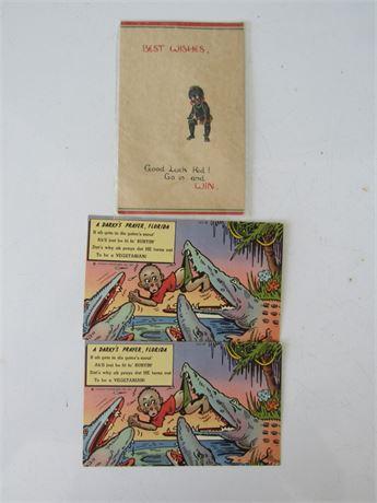 Vintage Black Americana Postcards