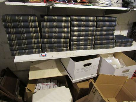 1898 Encyclopedia Britannica Complete Set