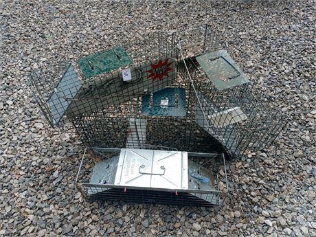4 animal traps