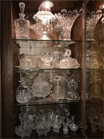 4 Shelves from Crystal Cabinet