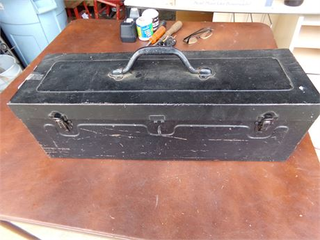 Tool Box, Oil Cans, and Miscellaneous Tools