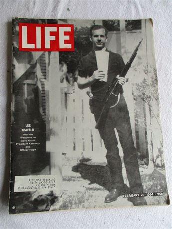 Vintage 12-21-64 Lee Harvey Oswald Complete LIFE Magazine Issue
