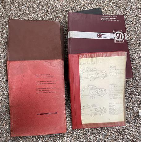 RARE Factory Originals Porsche 911 Manual and 356 B T-5 Manual - See Description