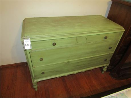 Painted Solid Wood Dresser